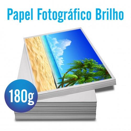 Papel Fotográfico 180g Brilho