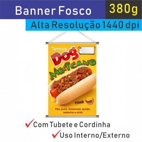 Banner 380g Fosco
