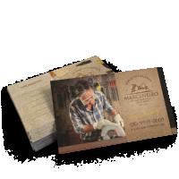 Cartão de Visita Verniz Localizado 300g 4-4